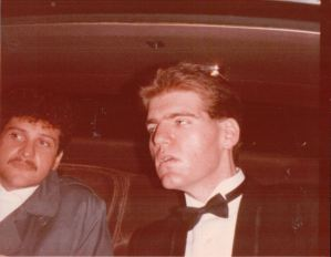 "Michael mayer and Joseph Naughton arrive at 'Yentl""."