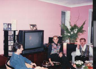Jeffrey Rindler, Carlos Isaac and John Hanrahan. November 19, 1993.