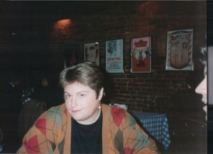 """Lori Schmidt loved to have dinner """"in the theatre district."""""""
