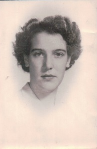 My mom soon after arriving from Ireland, 1949.  It was tradition to use money from your first paycheck to have your photo taken in a studio to send back home.