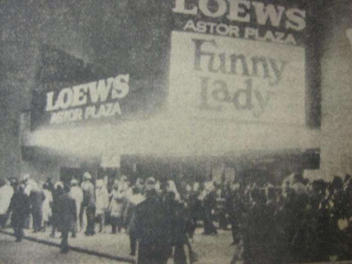 Somewhere under the words 'Funny Lady' are John and I. I was always the tallest one in the class, so that could be in the light colored jacket. (I'm 6'5).