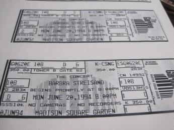Bonus tickets which were made available to us for purchase just prior opening night.